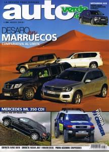 PORTADA AUTOVERDE4X4 AGOSTO 2010